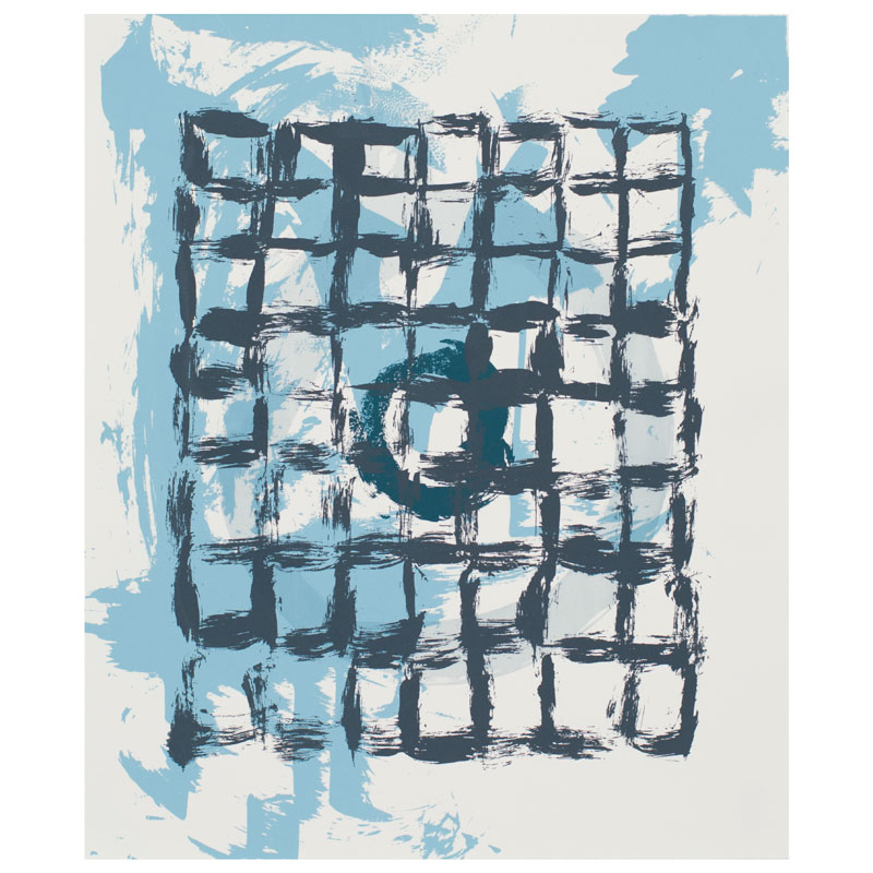 serigraphy blue screen printmaking