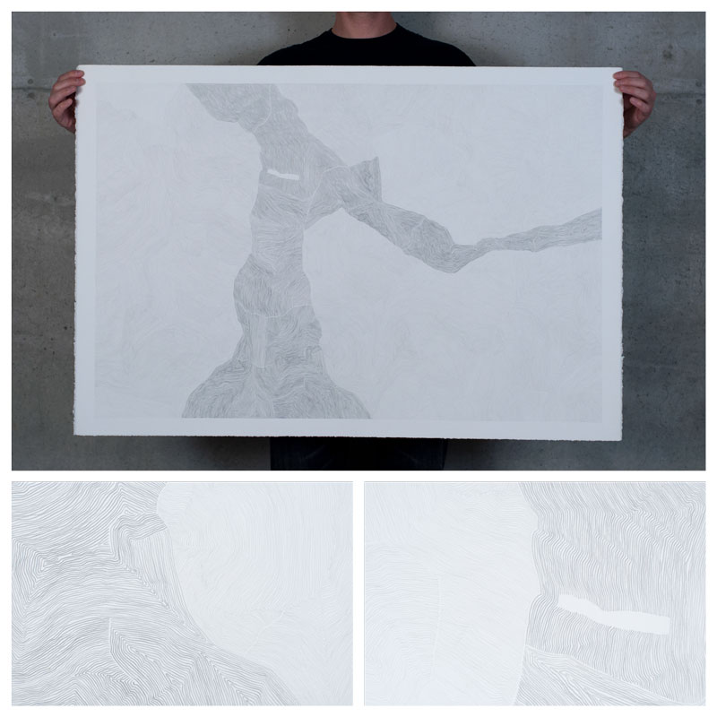 drawing graphite paper