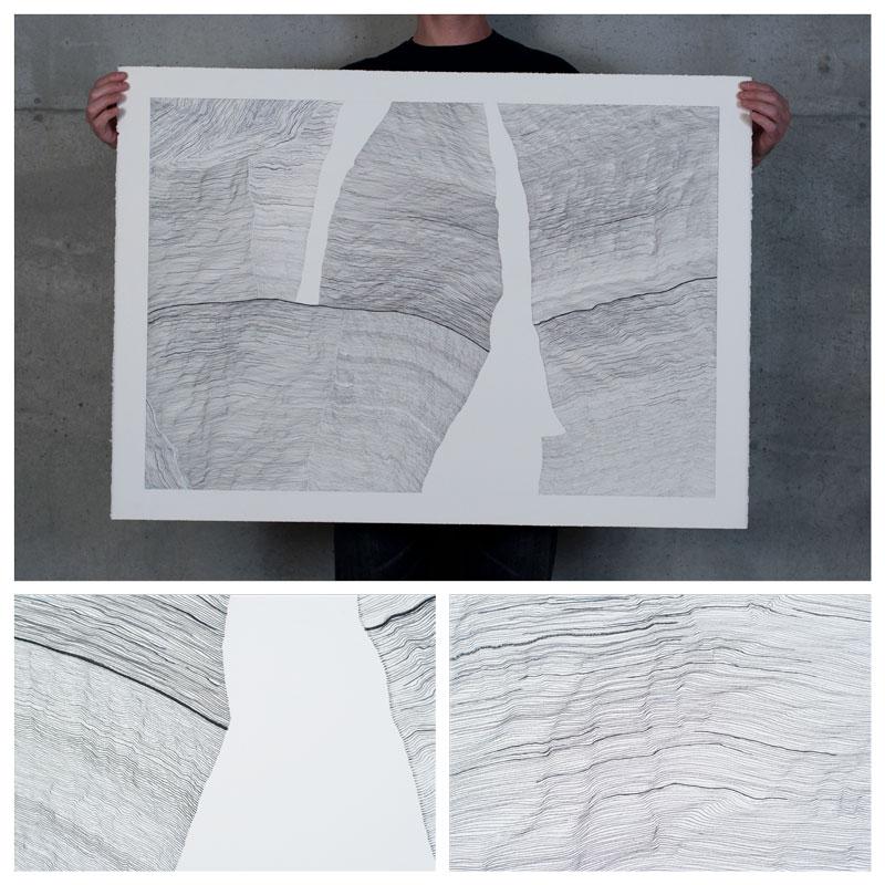 linescape drawing santa fe art