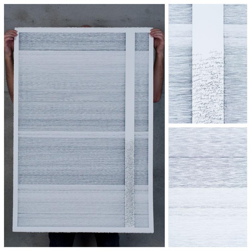 drawing process dialogue paper