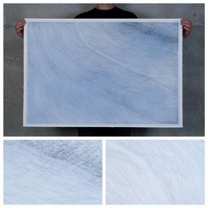 blue drawing paper santa fe