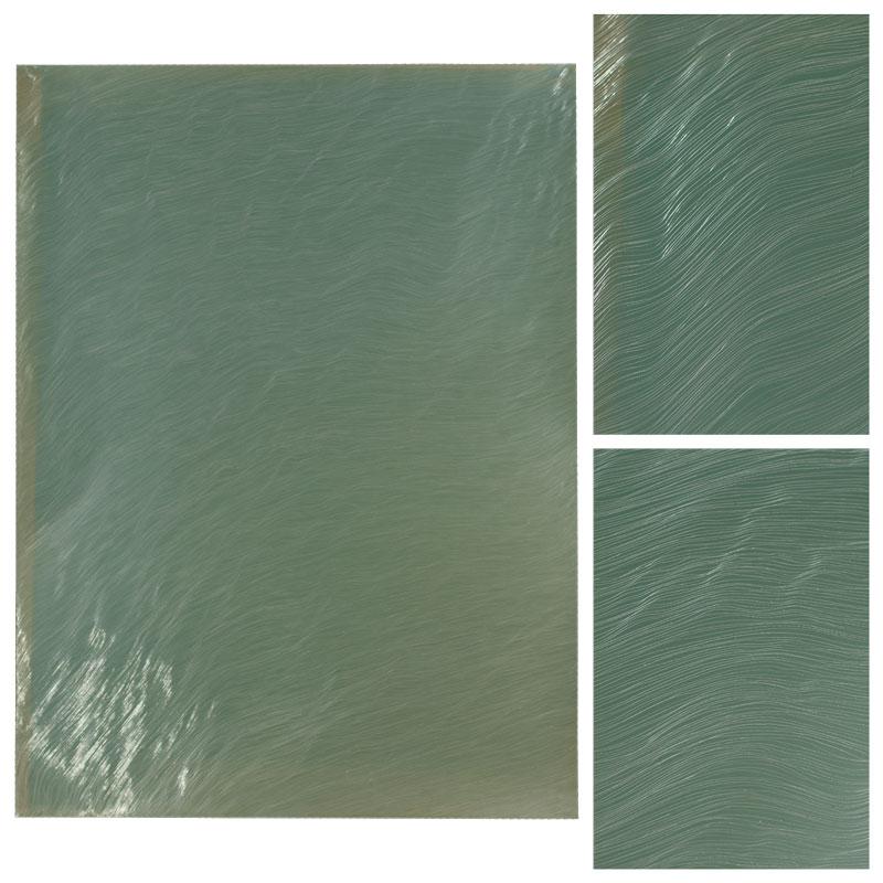 green aluminum art bollinger