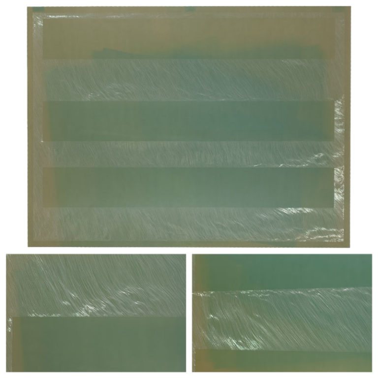 aluminum scoring drawing photo lithography