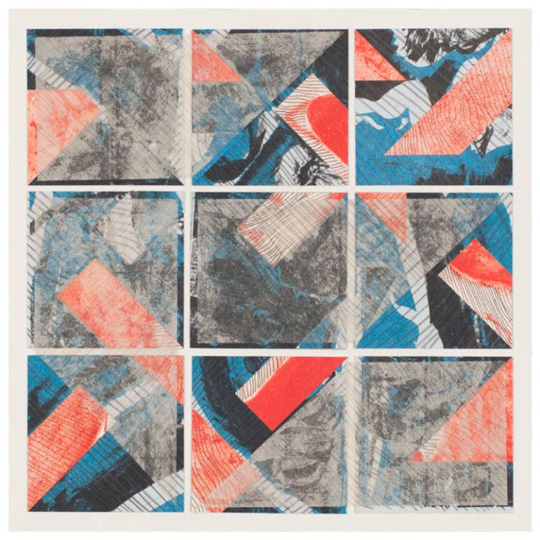 Tessellation Painting: Blue