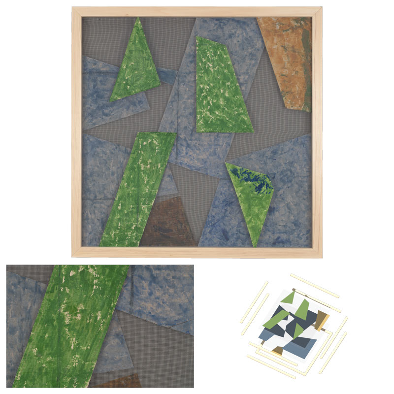 architecture space material painting